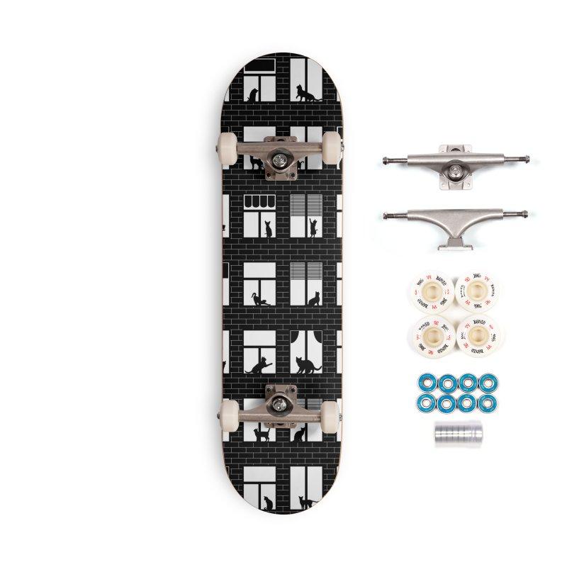 Feline Towers Accessories Complete - Premium Skateboard by Grandio Design Artist Shop