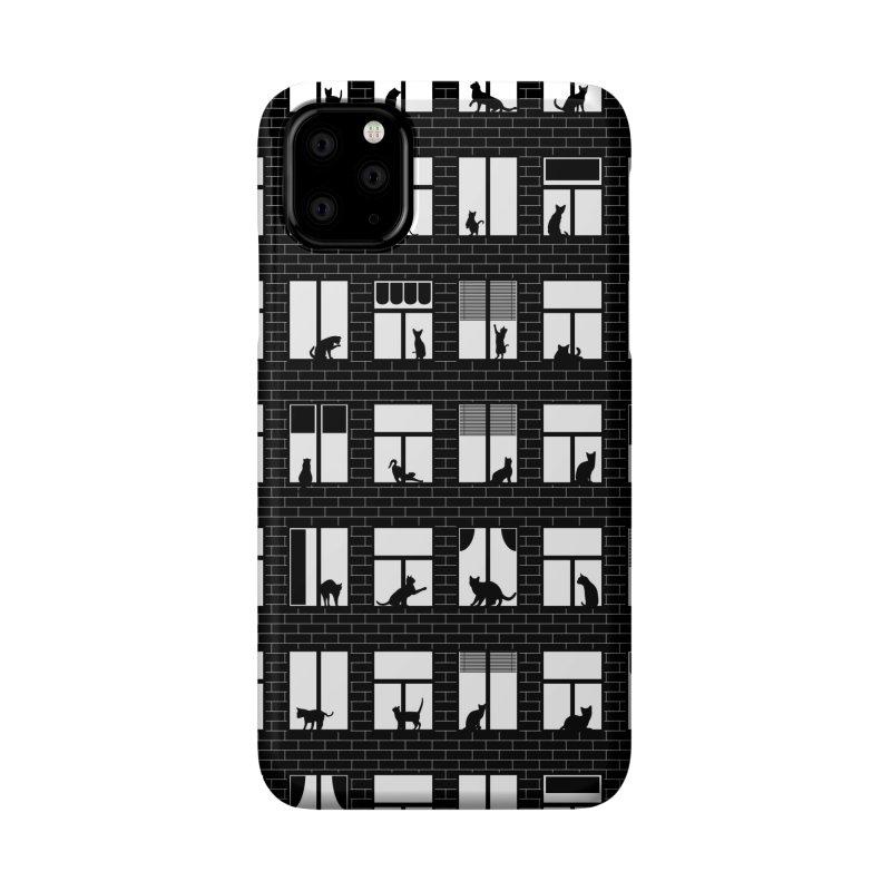 Feline Towers Accessories Phone Case by Grandio Design Artist Shop