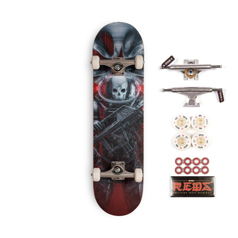 Honor Guard Accessories Complete - Pro Skateboard by Grandio Design Artist Shop