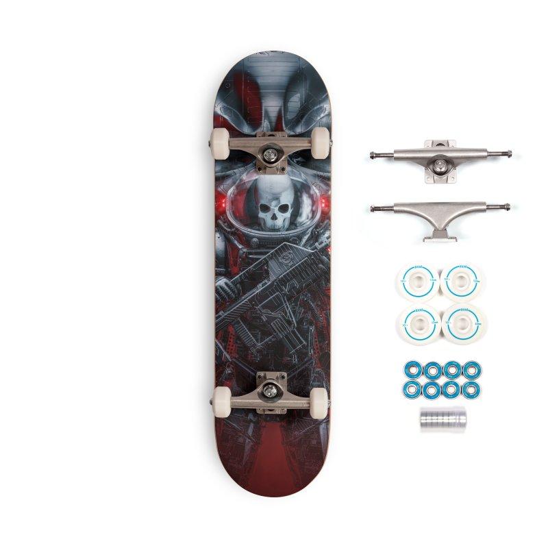 Honor Guard Accessories Complete - Basic Skateboard by Grandio Design Artist Shop