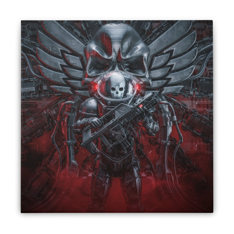 Honor Guard Home Stretched Canvas by Grandio Design Artist Shop