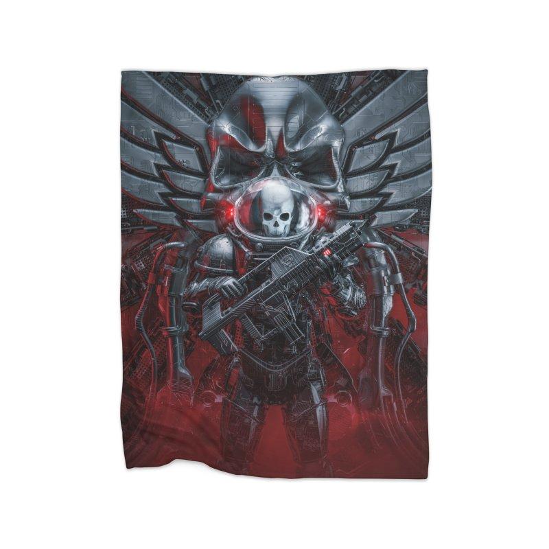 Honor Guard Home Fleece Blanket Blanket by Grandio Design Artist Shop