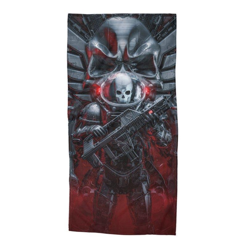 Honor Guard Accessories Beach Towel by Grandio Design Artist Shop