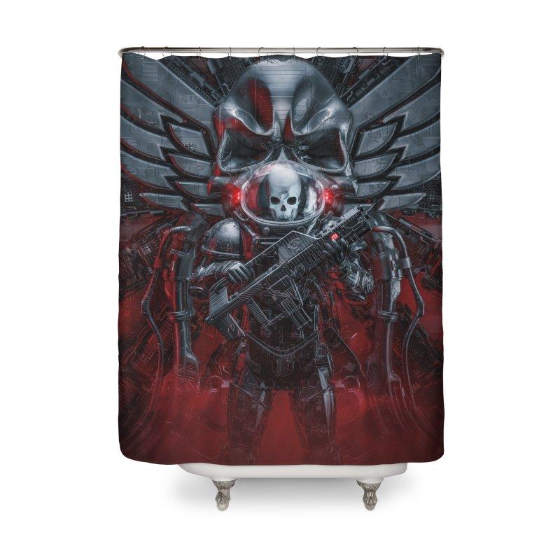 Honor Guard Home Shower Curtain by Grandio Design Artist Shop