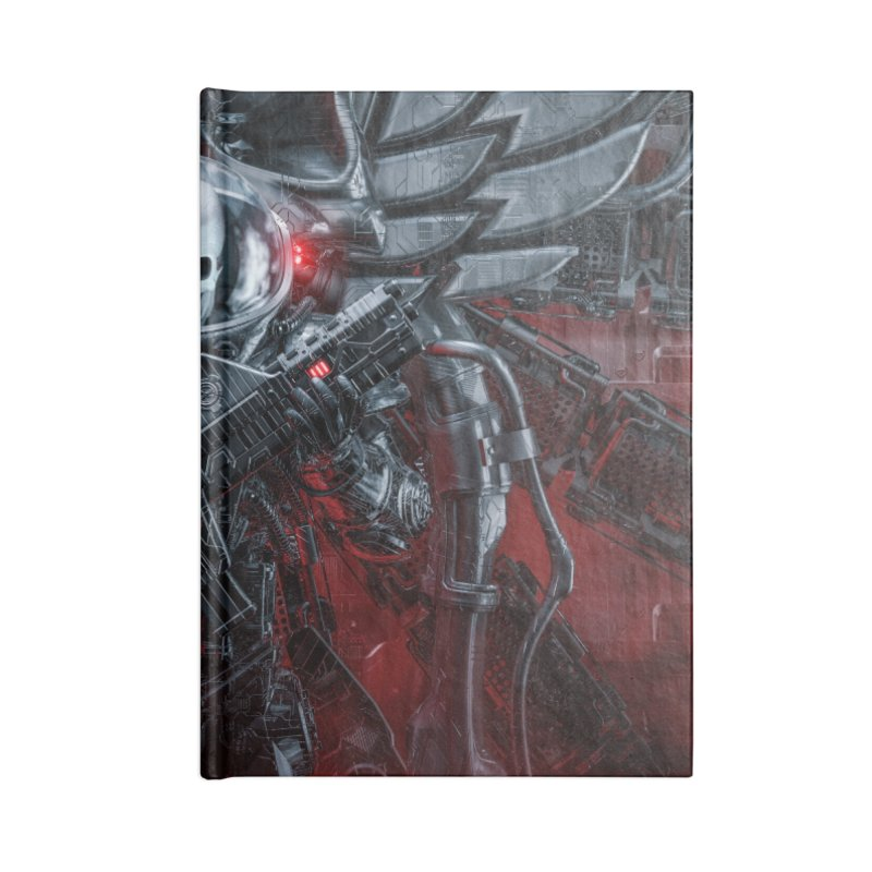 Honor Guard Accessories Lined Journal Notebook by Grandio Design Artist Shop
