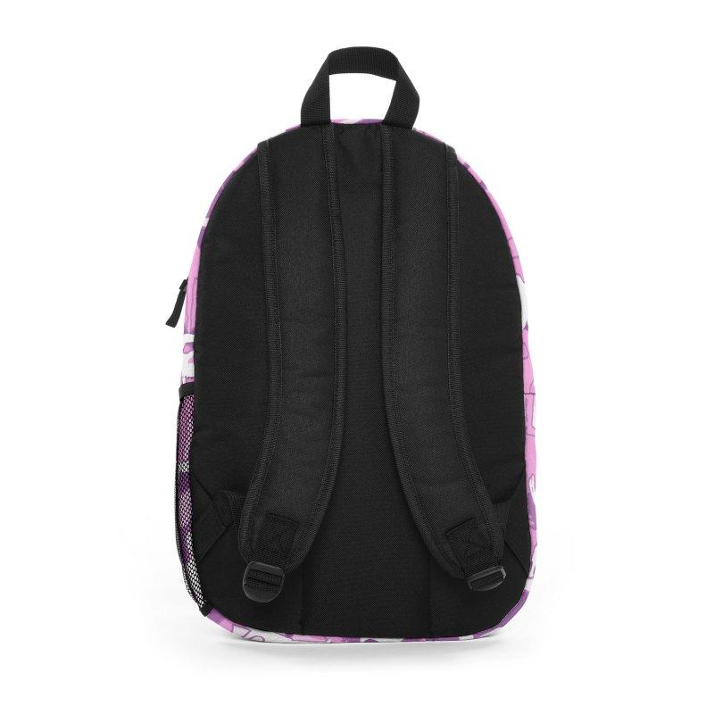 Yoga Harmony Camo PINK Accessories Bag by Grandio Design Artist Shop