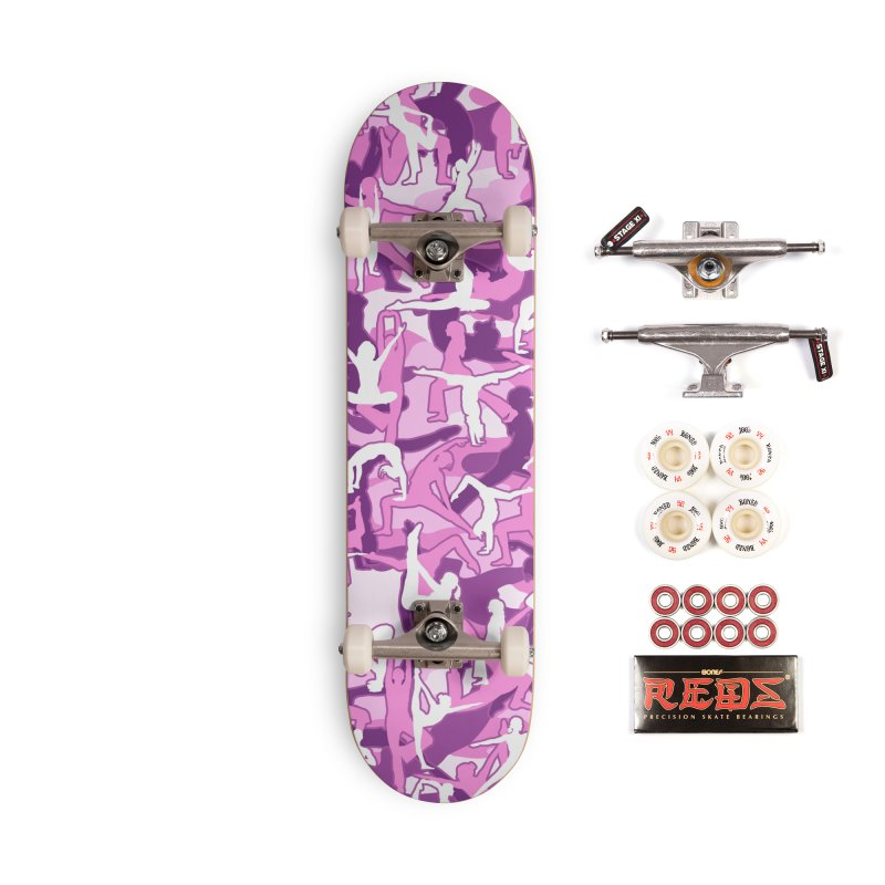 Yoga Harmony Camo PINK Accessories Complete - Pro Skateboard by Grandio Design Artist Shop