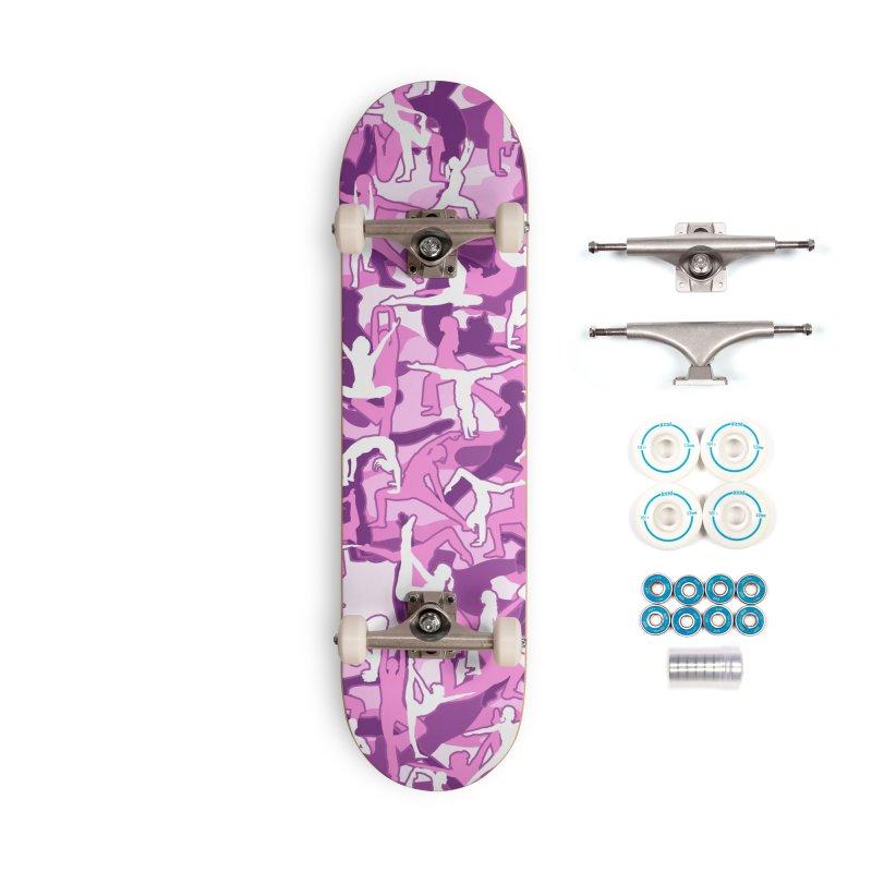 Yoga Harmony Camo PINK Accessories Complete - Basic Skateboard by Grandio Design Artist Shop