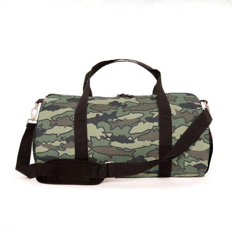 Fish Camo JUNGLE Accessories Bag by Grandio Design Artist Shop