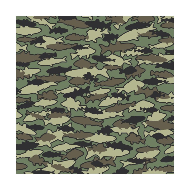 Fish Camo JUNGLE by Grandio Design Artist Shop