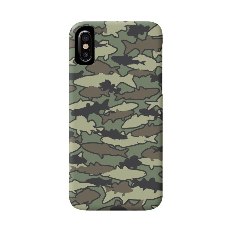 Fish Camo JUNGLE Accessories Phone Case by Grandio Design Artist Shop