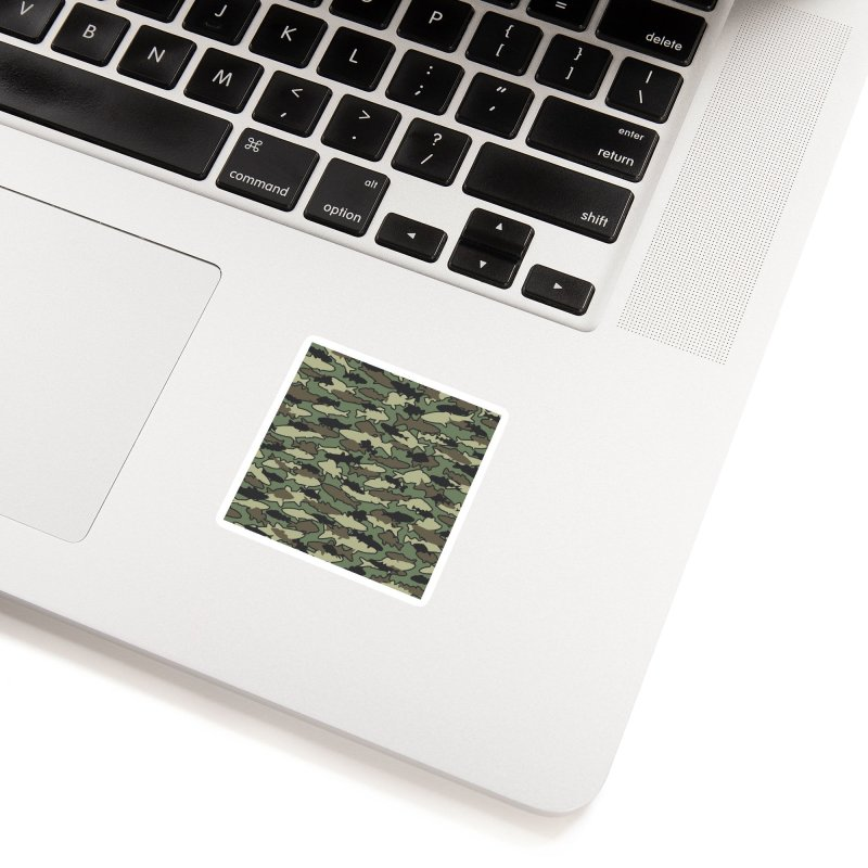 Fish Camo JUNGLE Accessories Sticker by Grandio Design Artist Shop