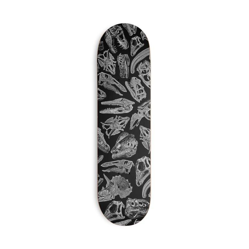 Paleontology Dream II Accessories Deck Only Skateboard by Grandio Design Artist Shop