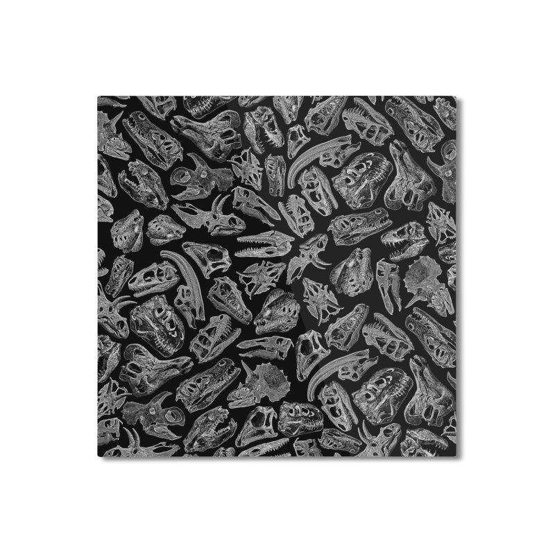 Paleontology Dream II Home Mounted Aluminum Print by Grandio Design Artist Shop