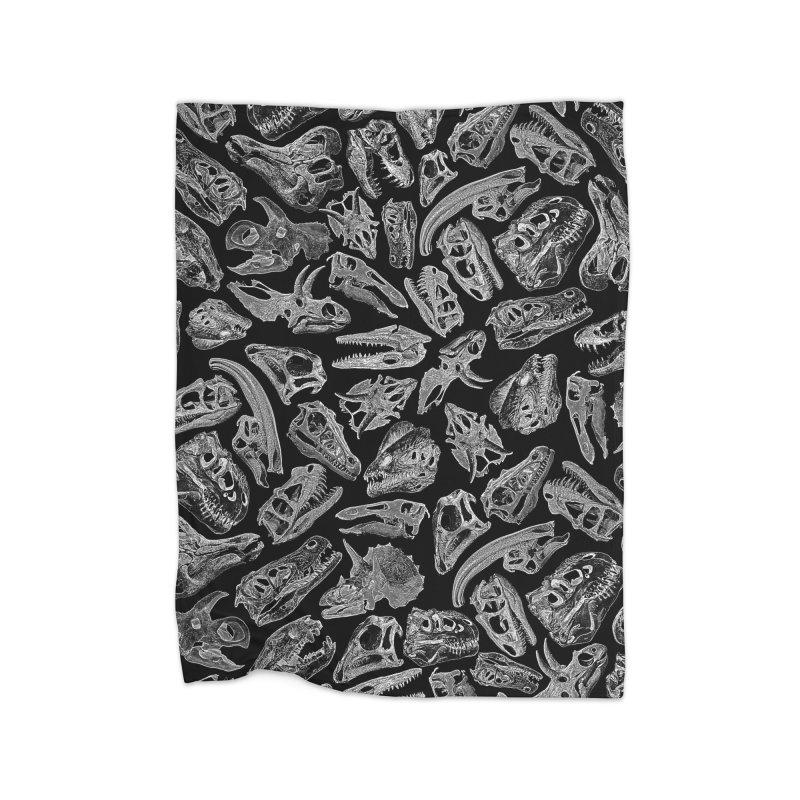 Paleontology Dream II Home Fleece Blanket Blanket by Grandio Design Artist Shop