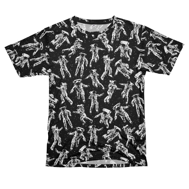 I Dream Of Space Men's T-Shirt Cut & Sew by Grandio Design Artist Shop