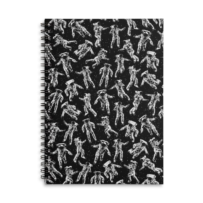 I Dream Of Space Accessories Lined Spiral Notebook by Grandio Design Artist Shop