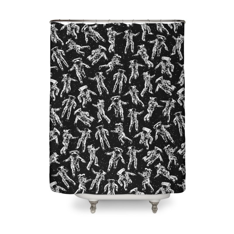 I Dream Of Space Home Shower Curtain by Grandio Design Artist Shop