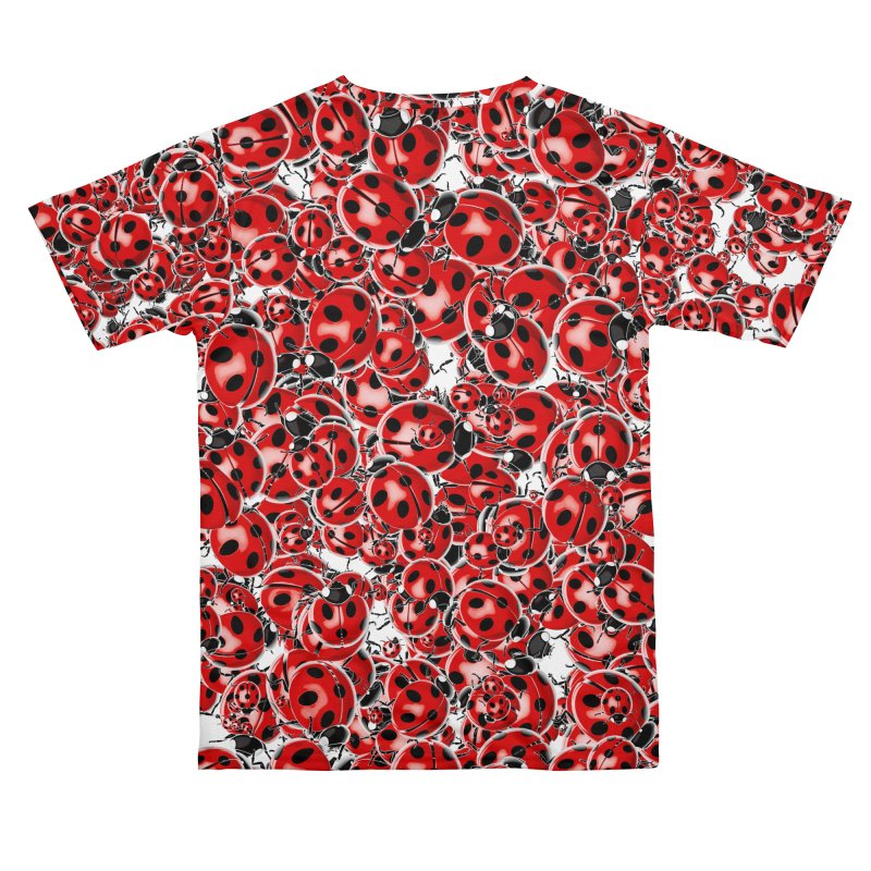 Ladybug Love Women's Cut & Sew by Grandio Design Artist Shop
