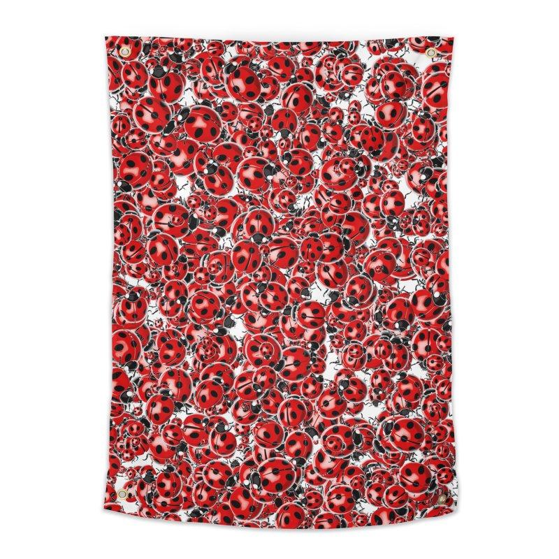 Ladybug Love Home Tapestry by Grandio Design Artist Shop