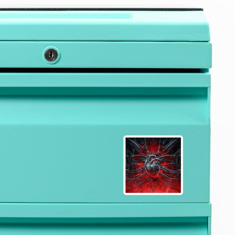 Heart Of The Gamer Accessories Magnet by Grandio Design Artist Shop