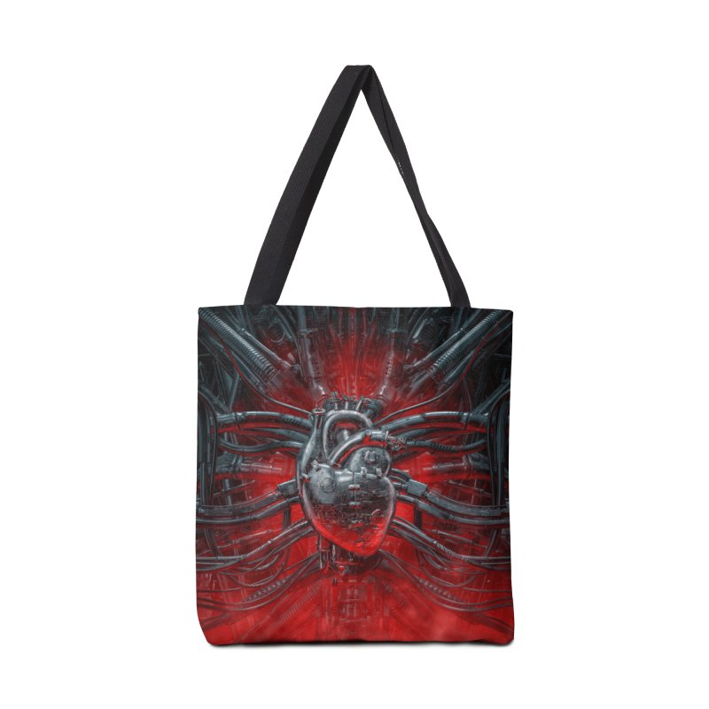 Heart Of The Gamer Accessories Tote Bag Bag by Grandio Design Artist Shop