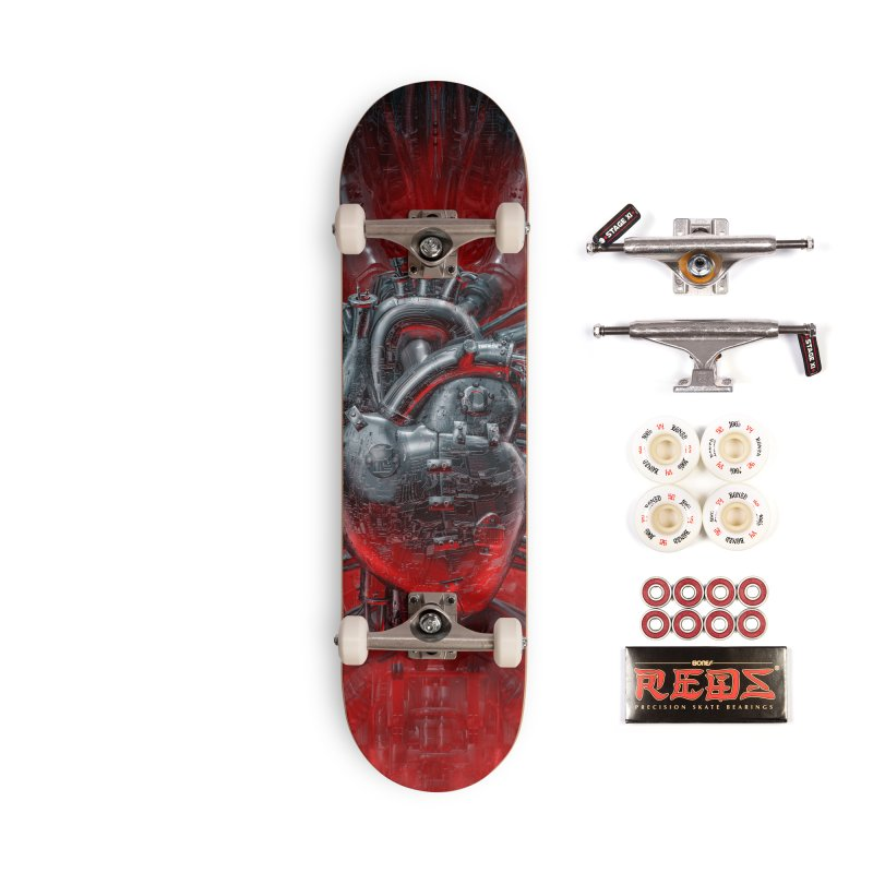 Heart Of The Gamer Accessories Complete - Pro Skateboard by Grandio Design Artist Shop