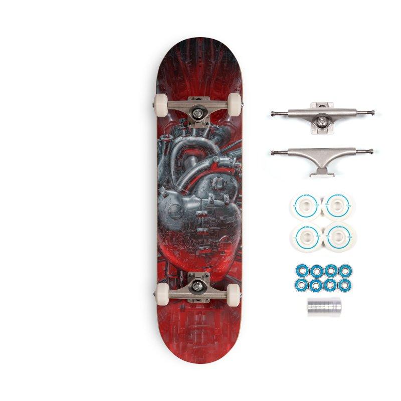 Heart Of The Gamer Accessories Complete - Basic Skateboard by Grandio Design Artist Shop