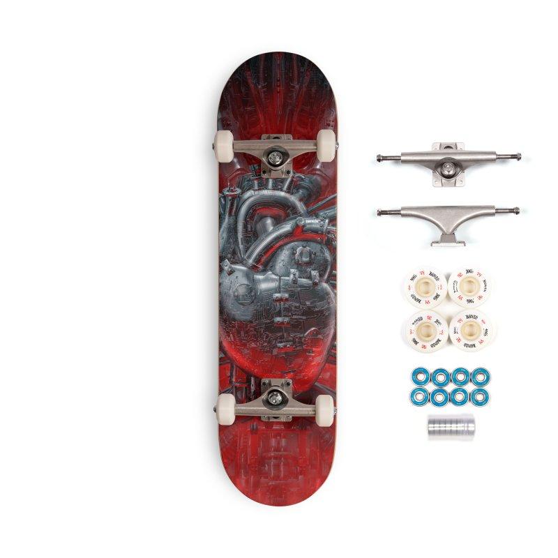 Heart Of The Gamer Accessories Complete - Premium Skateboard by Grandio Design Artist Shop