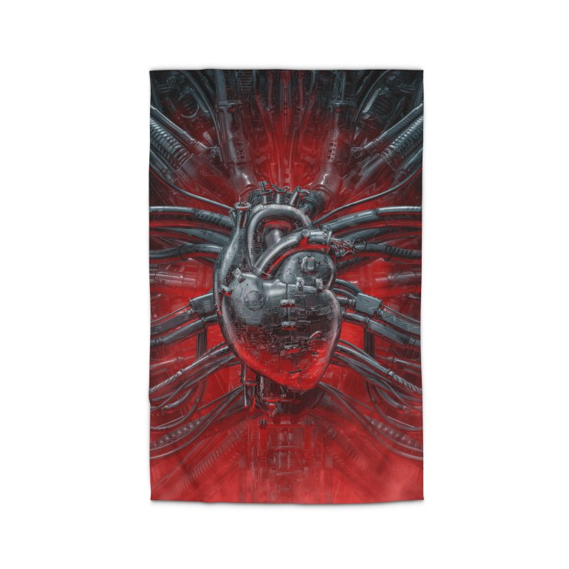 Heart Of The Gamer Home Rug by Grandio Design Artist Shop