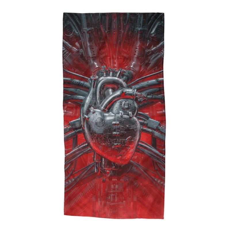 Heart Of The Gamer Accessories Beach Towel by Grandio Design Artist Shop