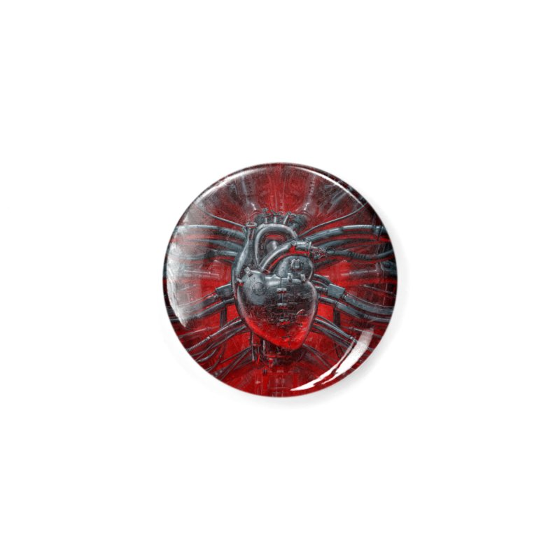 Heart Of The Gamer Accessories Button by Grandio Design Artist Shop