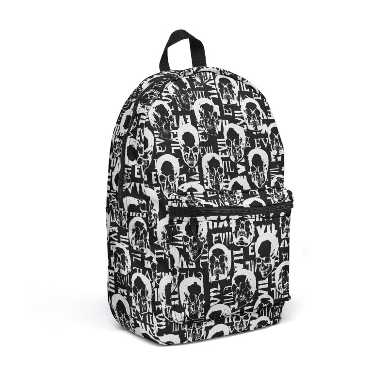 Pure Evil Accessories Backpack Bag by Grandio Design Artist Shop