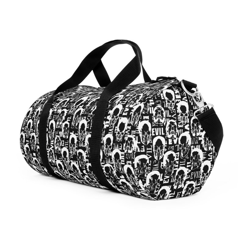 Pure Evil Accessories Duffel Bag Bag by Grandio Design Artist Shop