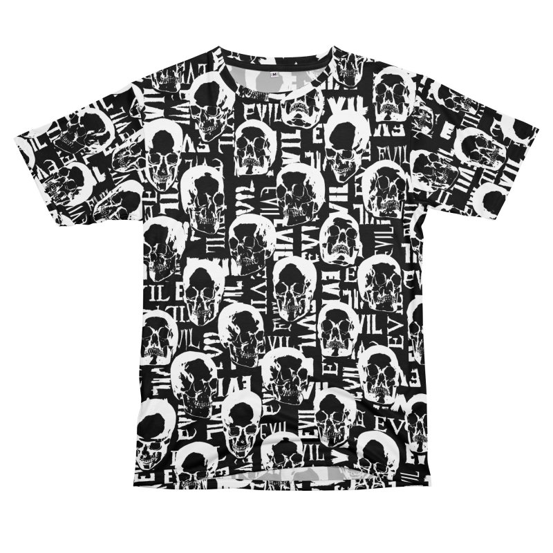 Pure Evil Men's T-Shirt Cut & Sew by Grandio Design Artist Shop