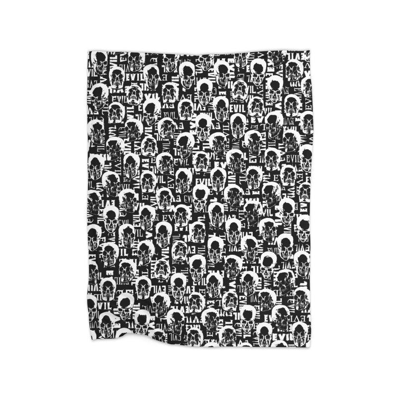 Pure Evil Home Fleece Blanket Blanket by Grandio Design Artist Shop