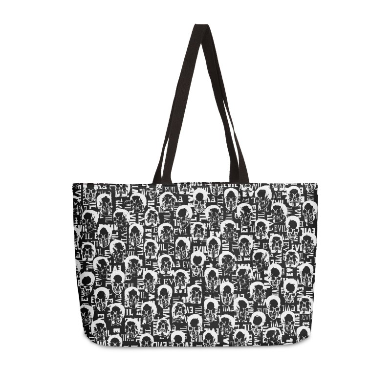 Pure Evil Accessories Weekender Bag Bag by Grandio Design Artist Shop