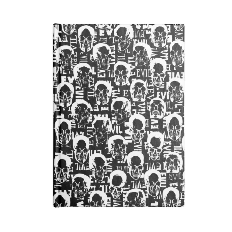 Pure Evil Accessories Lined Journal Notebook by Grandio Design Artist Shop