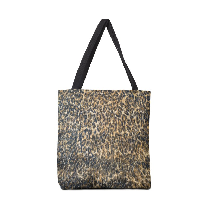 Leopard Cheetah Fur Wildlife Print Pattern Accessories Tote Bag Bag by Grandio Design Artist Shop