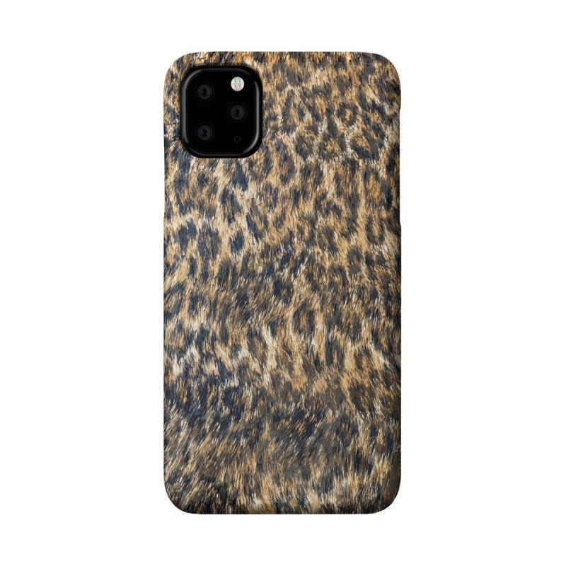 Leopard Cheetah Fur Wildlife Print Pattern Accessories Phone Case by Grandio Design Artist Shop