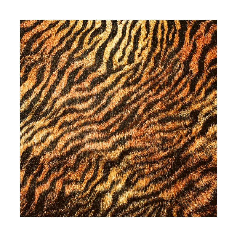 Bengal Tiger Fur Wildlife Print Pattern by Grandio Design Artist Shop