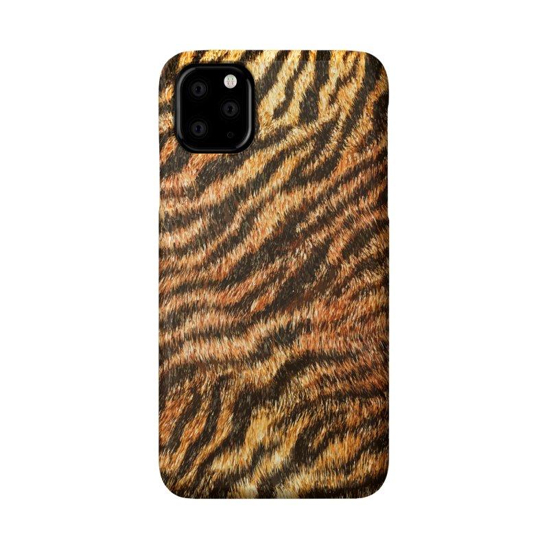 Bengal Tiger Fur Wildlife Print Pattern Accessories Phone Case by Grandio Design Artist Shop