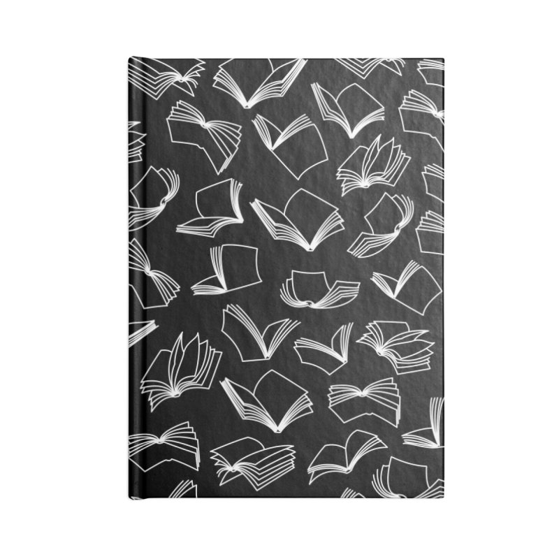 Bookaholic Dreams Accessories Lined Journal Notebook by Grandio Design Artist Shop