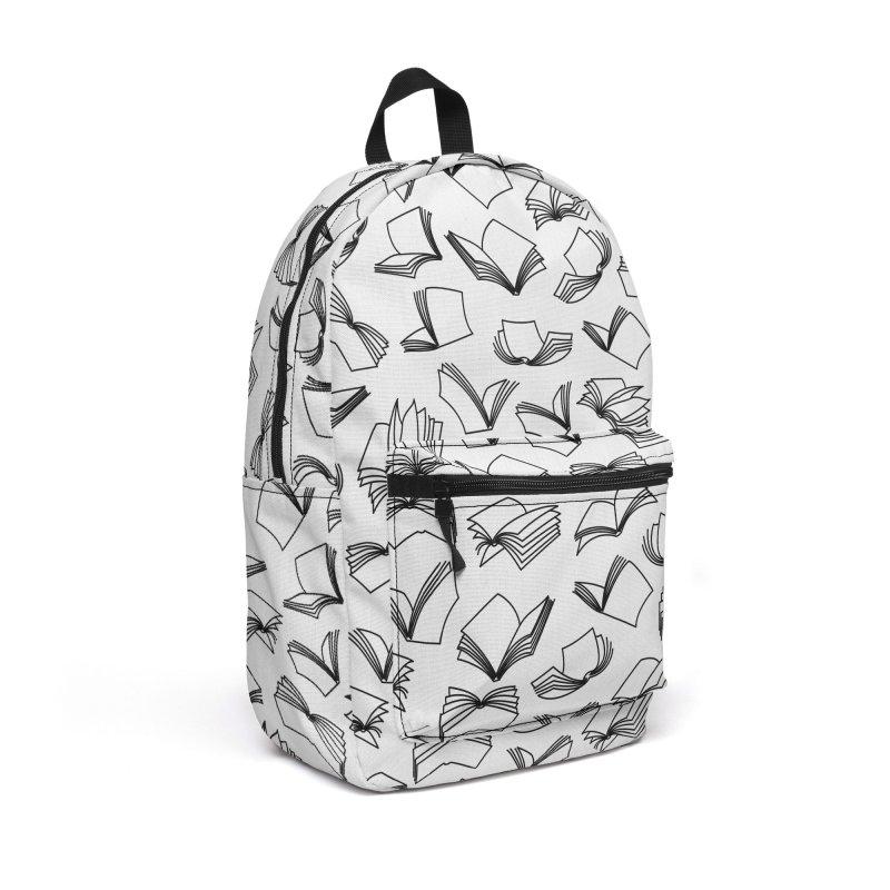Bookaholic Dreams II Accessories Backpack Bag by Grandio Design Artist Shop