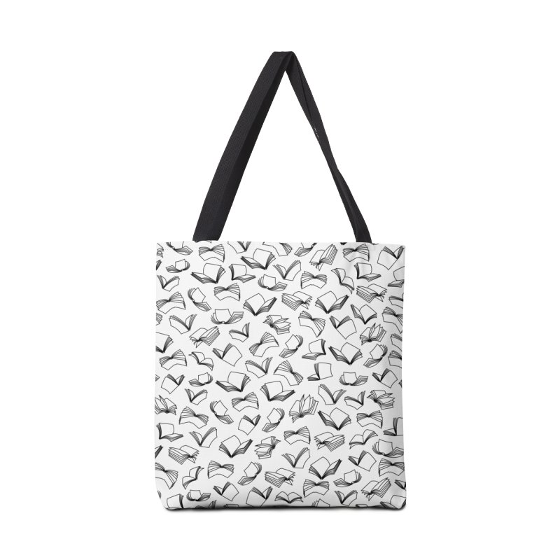 Bookaholic Dreams II Accessories Tote Bag Bag by Grandio Design Artist Shop