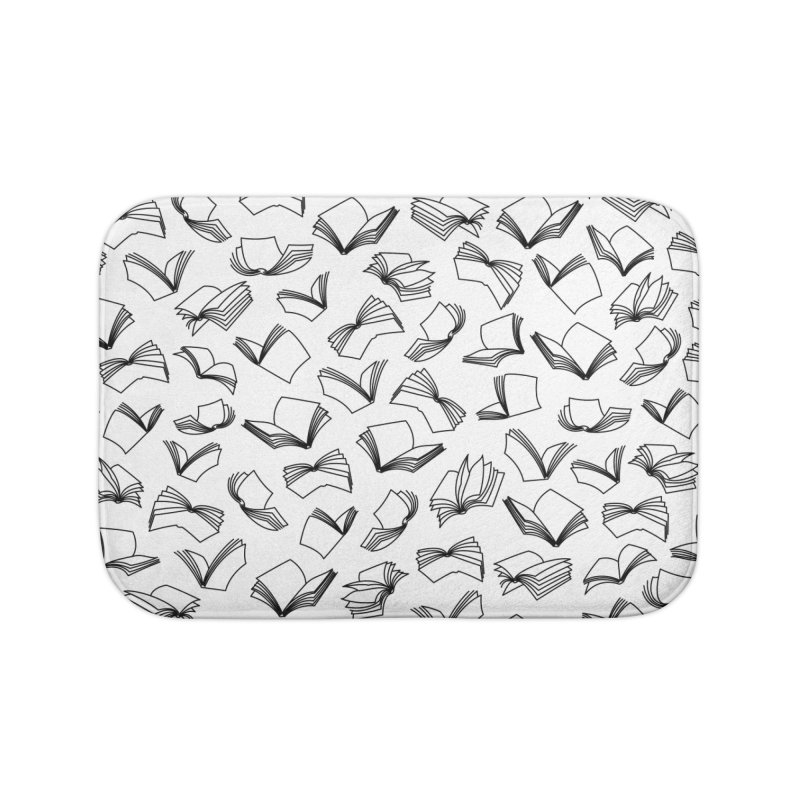 Bookaholic Dreams II Home Bath Mat by Grandio Design Artist Shop