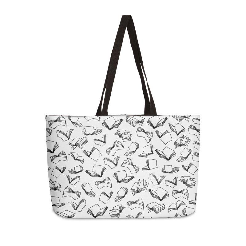 Bookaholic Dreams II Accessories Weekender Bag Bag by Grandio Design Artist Shop