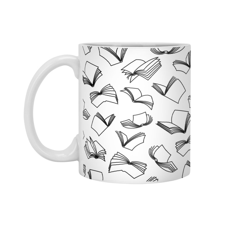 Bookaholic Dreams II Accessories Standard Mug by Grandio Design Artist Shop