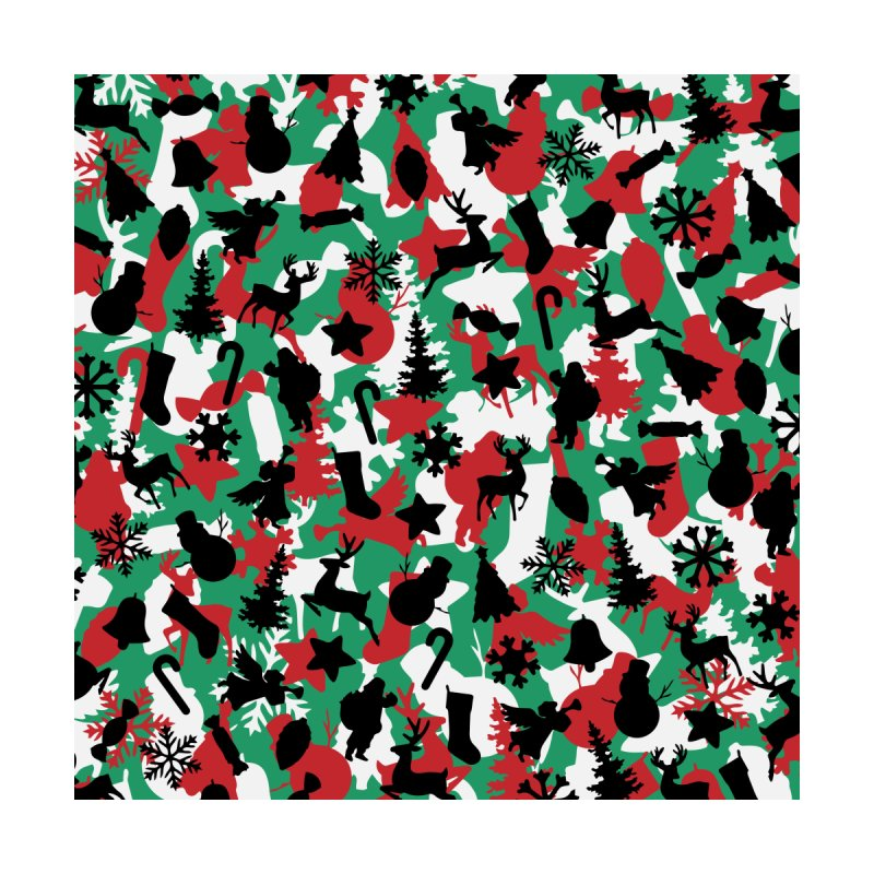 Christmas Camo WINTER WOODLAND by Grandio Design Artist Shop