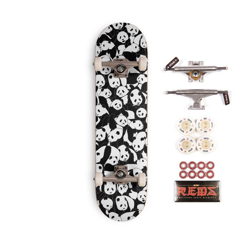 Less Hate More Panda Accessories Complete - Pro Skateboard by Grandio Design Artist Shop
